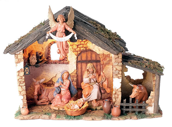 Fontanini Centennial Lighted Nativity Set