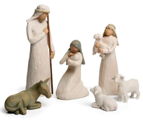 Willow Tree Starter Nativity Set (6 Pieces)