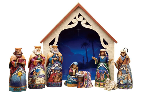 Mini Nativity Set by Jim Shore